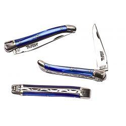 Laguiole 9 cm - Nacrine bleu