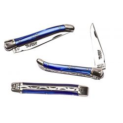 Laguiole 10 cm - Nacrine bleu