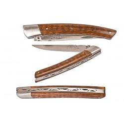 Couteau le Thiers - 9 cm - Bois d'amourette