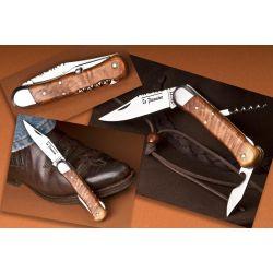 Couteau de chasse Le Pionnier - 3 pièces - Genévrier - 10,5 cm